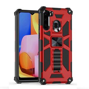 telefono Armatura ibrida di caso per iPhone Pro 11 XS Max XR acciaio armatura della calotta di protezione Anello Car Holder Magnetic copertina