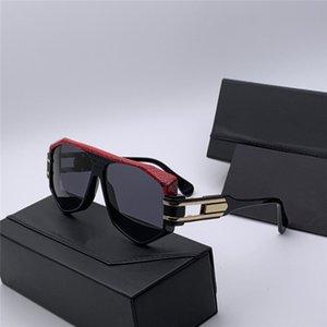 Pilotun yeni moda tasarımı 163 3 yatay kaş yılan tasarım, klasik güneş gözlüğü, düz ayna, en kaliteli güneş gözlüğü