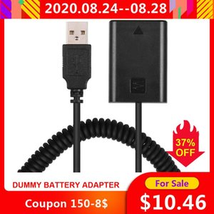 для A7 Mark II A7 NEX5 A6000 5V USB NP-FW50 пустышки Аккумулятор ответвитель адаптер с DC Мужской Разъем питания Спиральный кабель
