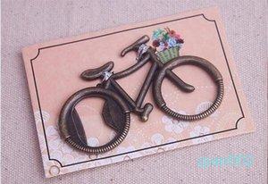 """빈티지 결혼식 호의 선물 오프너 파티 호의 기념품 자전거 병 오프너 병 자전거 """"모험을 가자""""를 giveaways--"""