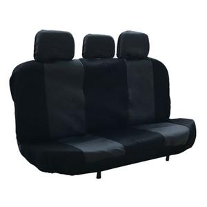 Winsun Four Seasons Универсальный 5 Подголовник Плоский Ткань Автокресло крышка 11 Piece Set Серый Черный