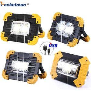 LED-bewegliche Scheinwerfer 6000Lm super helle LED-Arbeitslicht Wiederaufladbare für Outdoor-Camping-Lampe von 18650