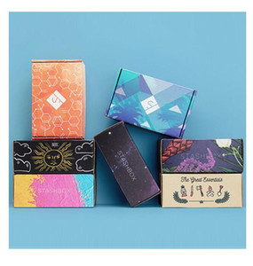 Custom Design Paperboard Perfume Makeup Subscription Box Personal Care Beauty Make Up Packaging Shipping Paper Corrugated shoes Boxes