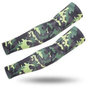 Tarnung Taktische Arm Sleeves Sun UV-Schutz Cover Outdoor Camping Golf Radfahren Bike Sport-Guards Arm Sets