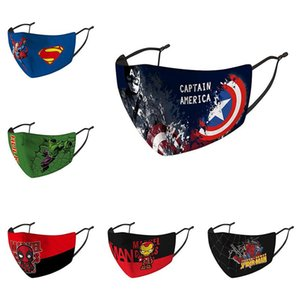 The Avengers 3D Printed Kids  face mask adjustable protective mask dust and haze breathable face masks DHA384