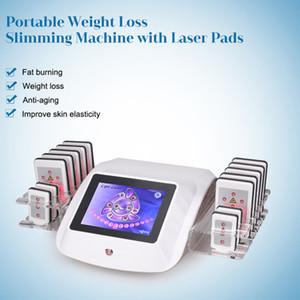 LIPO LASER 635NM Pérdida de peso corporal Forma de ajuste de la máquina de la grasa de adelgazamiento Reducir la celulitis / DIODE Lipolaser Dispositivo de equipos de belleza
