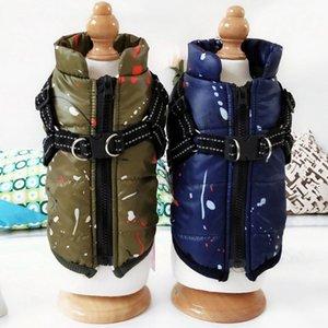 Pet Winter-Eindickung Warm Parks Kleidung Dog-Jacken-Mantel ärmelHundeWeste Snowsuit für Haustier-Chihuahua-Welpen