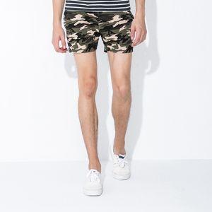 Camouflage man shorts