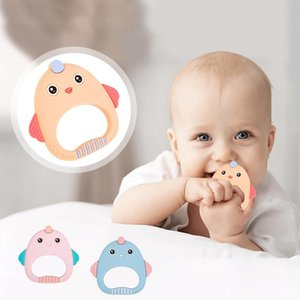 New Creative Baby Teether Chew Children Care Appease Molars Infant Animal Silicone Tooth Gel Toys Maternal and Child Supplies