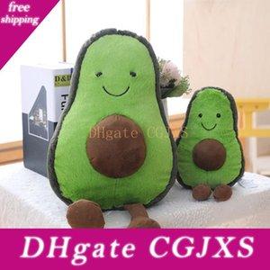 Avocado muñeca de juguete de felpa Avocado Innovative Fruit juguete de la felpa para los niños Conveniente para las almohadas sofás-cama linda Forma de juguete de felpa para los niños