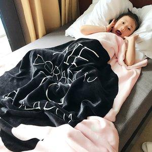 2020 Новых малыши Infant новорожденного Одеяло коляски раскладушка кровать Moses Basket шпаргалка Knit Одеяло мультфильм спального мешка