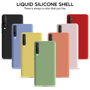 Liquid Silicone Case For Xiaomi Redmi Note 9 8 7 6 K20 30 Pro 8A Soft Case For Mi 9T 10 9 8 SE A2 Lite A1 6X Mix 2 3 2s Cover