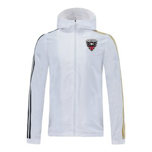 2020 DC United High-end sports brand new season jacket Football fashion windbreaker Hip-hop hooded jacket Trendy jacket