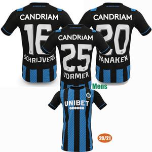 2020 2021 نادي كلوب بروج maillots دي لكرة القدم القدم جيرسي VANAKEN فوسن سانيا VORMER 20 قميص 21 لكرة القدم S-2XL