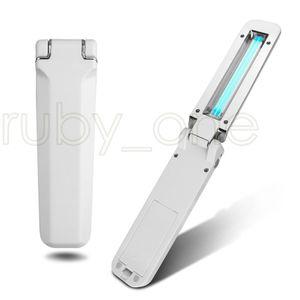 Katlanabilir UVC Dezenfeksiyon Lambası Taşınabilir UV Sterilizatör Işık Ultraviyole Ozono Antiseptik Işık Home For Otel Temizlik Araçları RA3512