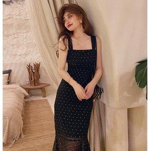 LqpWk Luz emagrecimento vestido de saia shou Shen Qun Qun Night Light emagrecimento vestido brilhante Noite saia shou brilhante Shen