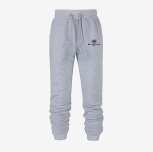 Новые мужские Женская Joggers Balenciaga Мужской брюки мода повседневные брюки Sweatpants Мужчины Gym Muscle хлопок Фитнес тренировки хип-хоп Эластичные брюки