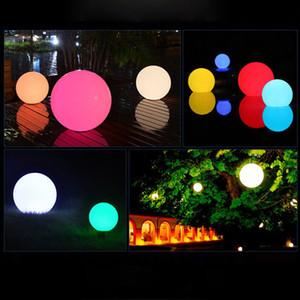 LED الكرة مصباح تغيير لون ثابت RGB ضوء القابلة لإعادة الشحن حمام سباحة حديقة الديكور الكرة أضواء ليلة