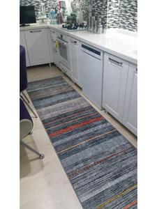 Couro Pamuklife artificial baseada não derrapante base Carpet Runner Olympus Modern Super Macio Tapete lavável diário Saudável