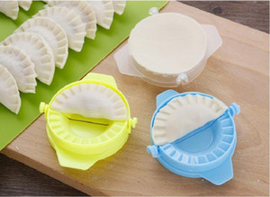 Multifuncional plástico Ravioli Mold Dumplings cortador Dumpling Criador Form Wrapper Presser moldes de cozedura Pastelaria ferramenta do cortador de pastelaria