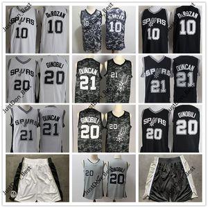 Für Männer Kinder San AntonioSpurs Vintage-David 50 Maurice Robinson Dennis Rodman 10 Basketballjerseys Manu Ginobili DeRozan genähtes Shorts1