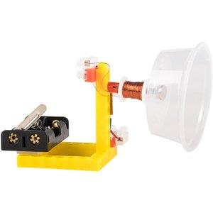 студенты наука и техника физик небольшого производства изобретения самодельного динамик акустики DIY экперименты игрушка