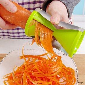 Spiral Hourglass vegetal raladores Cozinha multi-função Batata Cenoura cortador criativa Rotating Fruit Vegetable Grater Ferramentas DWA800
