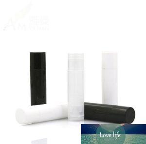 1000 Pcs Lot 5ml Cosmetic Empty Chapstick Lip Gloss Lipstick Balm Tube + Caps Container Wholesale SN1258