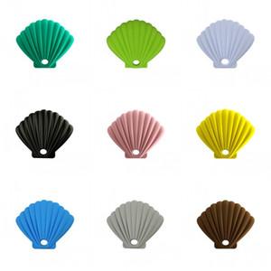 Rich silicone Colori Viso Casi maschera Shell forme Storage Box Carino resistenza all'usura Container vendita calda durevole 6zw E2