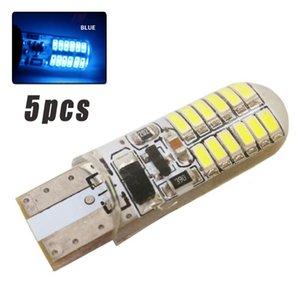 5pc / set Araba Tekne Yanıp sönen LED Işık Park Plaka Gösterge Lambası değiştirin