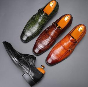 Hommes Robe Chaussures Véritable plat cuir Oxford Hommes Flats mariage Party de bureau Mocassins 38-48 Plus Size Livraison gratuite