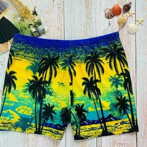 Hommes Maillots Trunks Hommes Boxer Imprimer Pantalons Hot Spring Beach Maillots de bain Mode hommes respirant, Trunks 2020 pour piscine en gros
