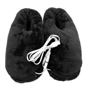 Pad USB Pés portáteis Warmer elétrica confiável Início Aquecimento Shoes aquecida Slipper Prático Alívio Fria macio do presente do inverno