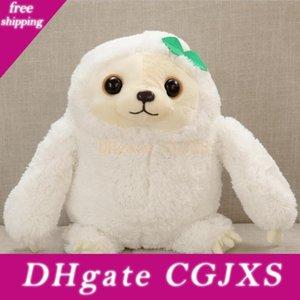 Presentes simulação Sloth A boneca Lifelike Sloth Plush Toys Stuffed Dolls Stuffed Brinquedos Crianças linda boneca Melhor férias Ww36cm