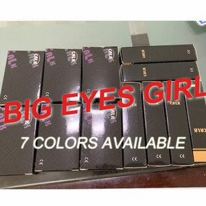 Big Eyes Girl Series Classic contact lenses boxes GOOD QUALITY in China market 5 colors can provide clear pictures DHL free shipping