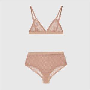 Luxusmode-Frauen Spitzen-BH Sets Gestickte Buchstaben Frauen reizvolle Wäsche-Mädchen-Charme-Bow-Knoten Unterwäsche Zweiteiler 2 Farben