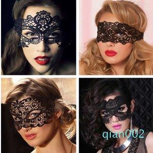 Black Christmas Princesa Lace Máscara partido do traje, do sexo feminino desempenho do partido da máscara night club sexy, Europa e América