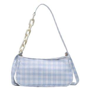 Bolso de hombro 2020 bolso de Lona para mujer, rojo, blanco, Vintage, a la moda, bolso de Lona para mujer, monedero