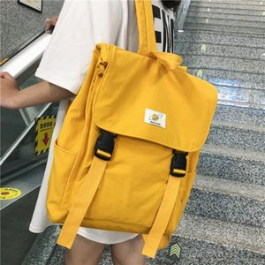 Waterproof Backpack Women Canvas School Bags Travel Bag for Teenage Girls Bagpack Rucksack Ladies Sac A Dos Mochila Mujer 2019 CX200811