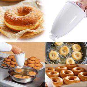 Donut moule fabricant facile Donut rapide portable manuel Waffle distributeur Donut outil de cuisson machine ustensiles de cuisson Cuisine