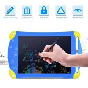 Cgjxs ملون الكرتون 8 .5inch شاشات الكريستال السائل الكتابة اللوحي الرقمية المحمولة الكتابة اليدوية الالكترونية الوسادة رسالة الرسومات اللوحي للرسم للأطفال