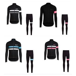 Pro Team RAPHA 2020 Spring Autumn Men Cycling Jersey Set Breathable Racing Bike Sports Wear Long sleeve MTB Bicycle Clothing