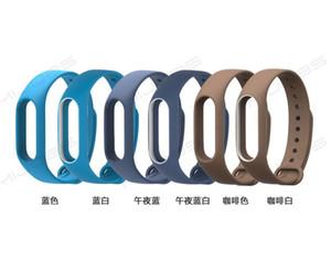 샤오 미 미 밴드 2 스트랩에 대한 500PCS 팔찌 액세서리 Pulseira Miband 교체 실리콘 손목 스마트 손목