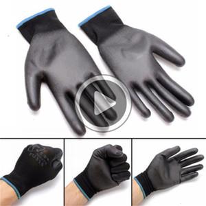 12 пар fashion-нитрил покрытие Рабочих перчатки нейлоновой безопасность труд Фабрика сад Ремонт Protectore перчатка Мода Горячая