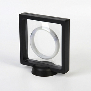 패션 3D 부동 프레임 그림자 상자 사진 프레임 보석 디스플레이적인 장식 예술 VyRC 번호