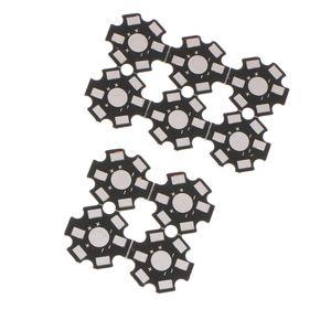 Lot 10pcs 20 mm haute puissance conduit plaque de base en aluminium dissipateur de chaleur pour 1W 3W Lampe