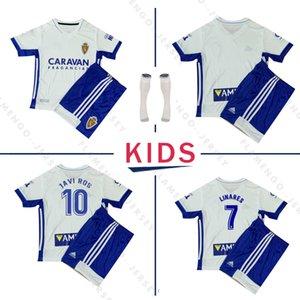 2020 2021 ريال سرقسطة SOCCER JERSEY شينجي كاغاوا بالقميص أندريه بيريرا البرتو سورو camisetas دي SHIRTS فوتبول KIDS SET FOOTBALL