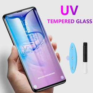 Для Samsung Note20 Note20 Ультра 5G UV полное покрытие экрана протектор Защитное стекло Жидкое стекло закаленное