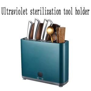 Home Cozinha UV esterilização faca titular pauzinhos faca de desinfecção máquina de corte de faca