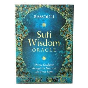 Oracle Cards Sufi Selling Deck Spiel für Wisdom Karten Patry Tarot Spiel A Hot 44 Karten yxlrHx dh_niceshop